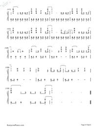 Haru Haru-Big Bang-Numbered-Musical-Notation-Preview-6