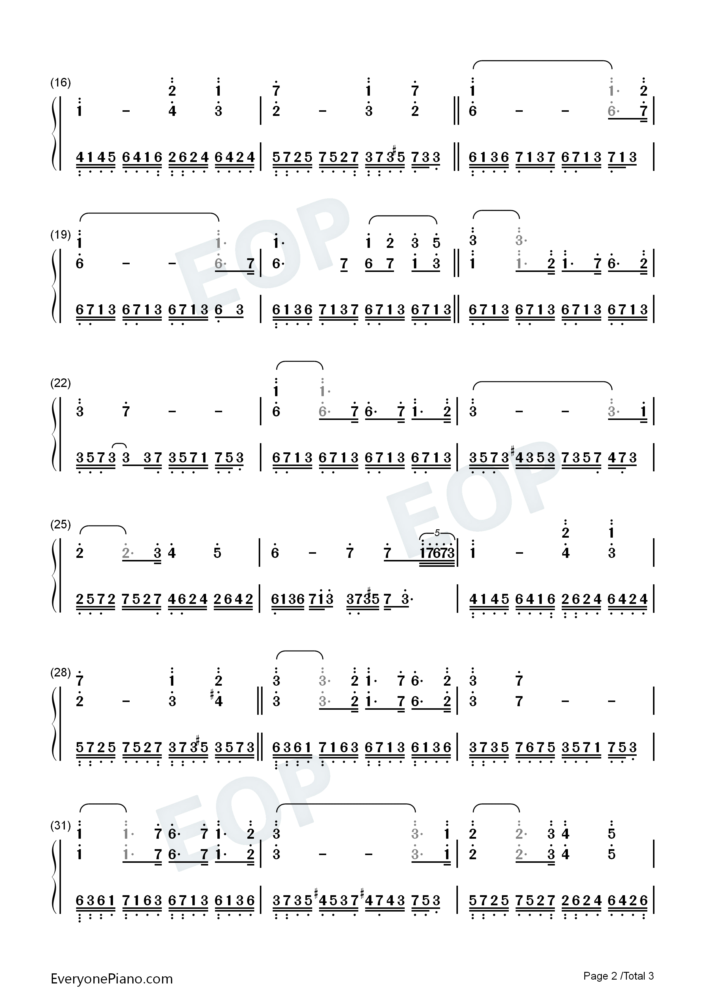 One mans dream yanni numbered musical notation preview 2 free listen now print sheet one mans dream yanni numbered musical notation preview 2 hexwebz Image collections