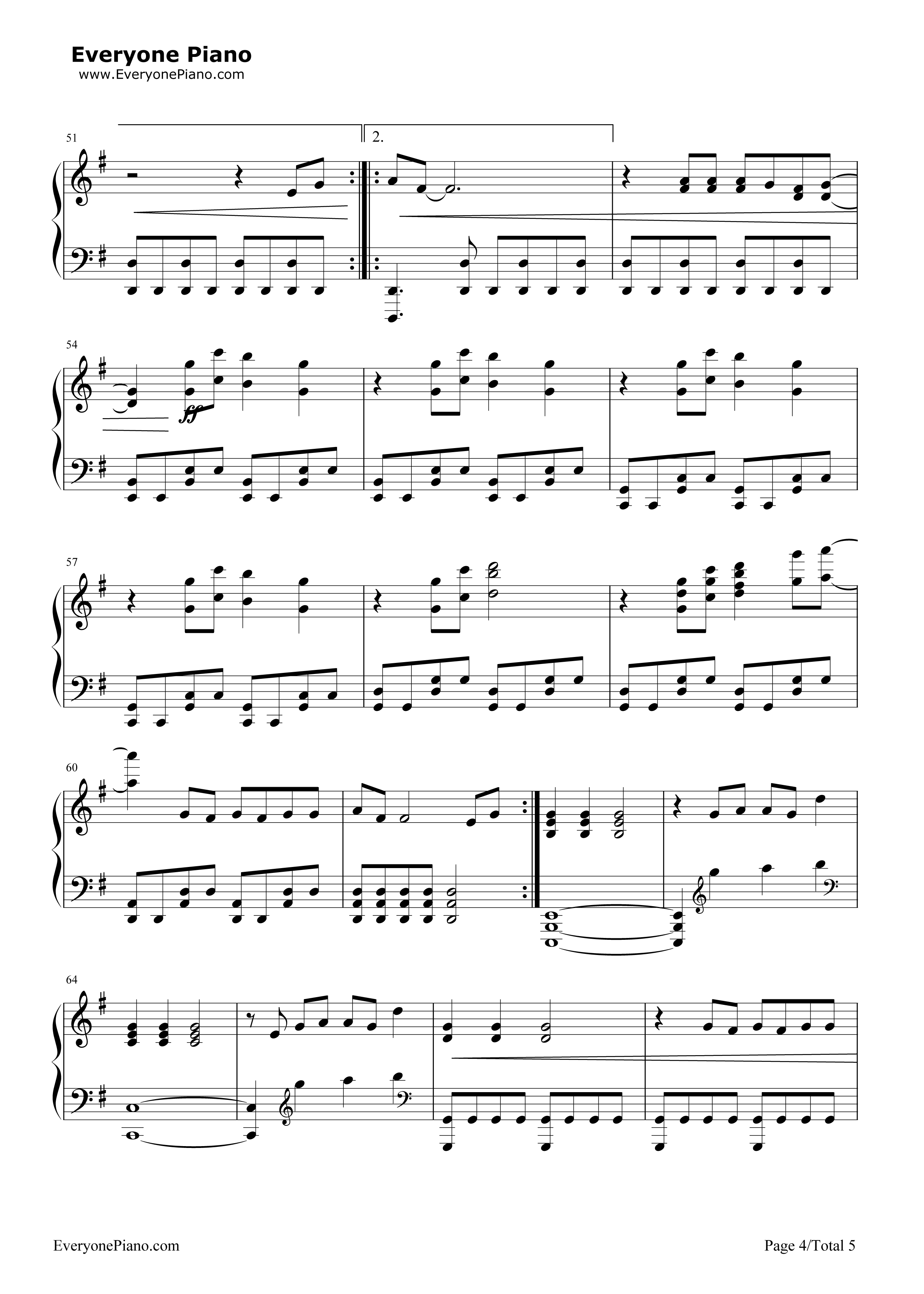 skinny love sheet music free pdf