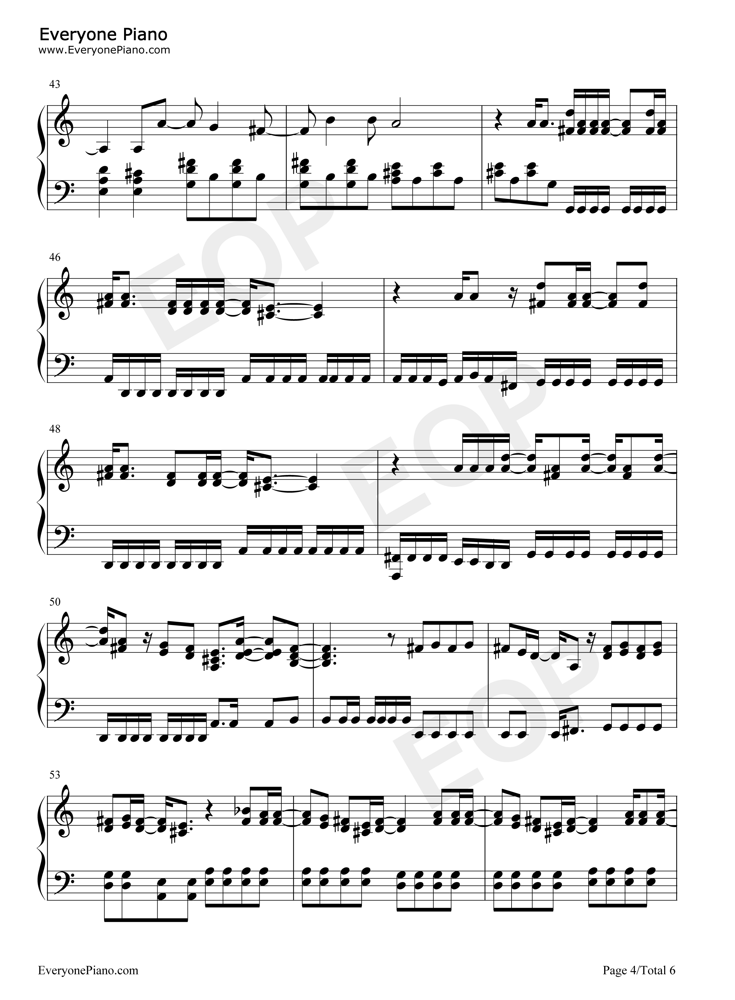 My happy ending avril lavigne stave preview 4 free piano sheet listen now print sheet my happy ending avril lavigne stave preview 4 hexwebz Gallery