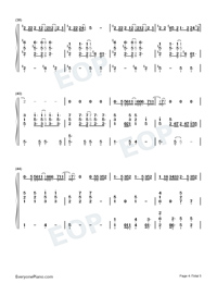 Bad day daniel powter numbered musical notation preview 4