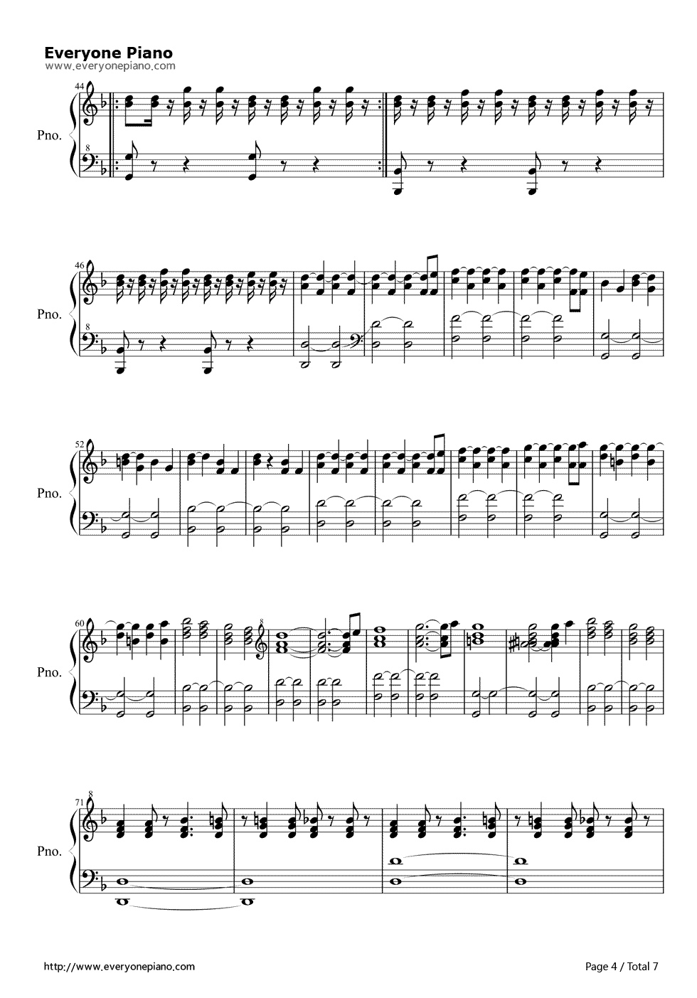 I am the doctor doctor who 11th theme stave preview 4 free piano listen now print sheet i am the doctor doctor who 11th theme stave preview 4 hexwebz Images