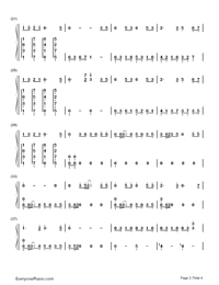 The Foggy Dew-Bandari-Numbered-Musical-Notation-Preview-2
