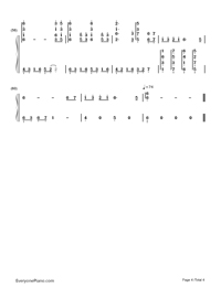 The Foggy Dew-Bandari-Numbered-Musical-Notation-Preview-4
