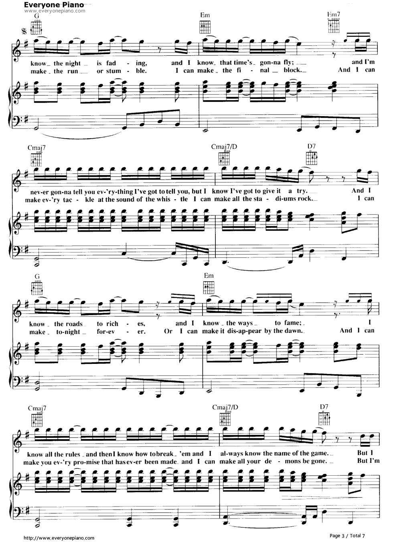 air supply sheet music pdf