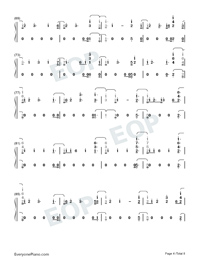 End Game-Taylor Swift-Numbered-Musical-Notation-Preview-4