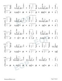 End Game-Taylor Swift-Numbered-Musical-Notation-Preview-6