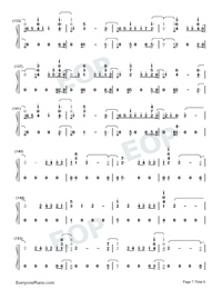 End Game-Taylor Swift-Numbered-Musical-Notation-Preview-7