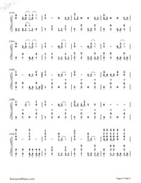 Mean-Taylor Swift-Numbered-Musical-Notation-Preview-6