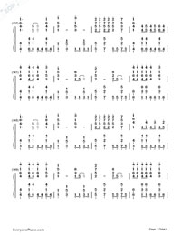 Mean-Taylor Swift-Numbered-Musical-Notation-Preview-7