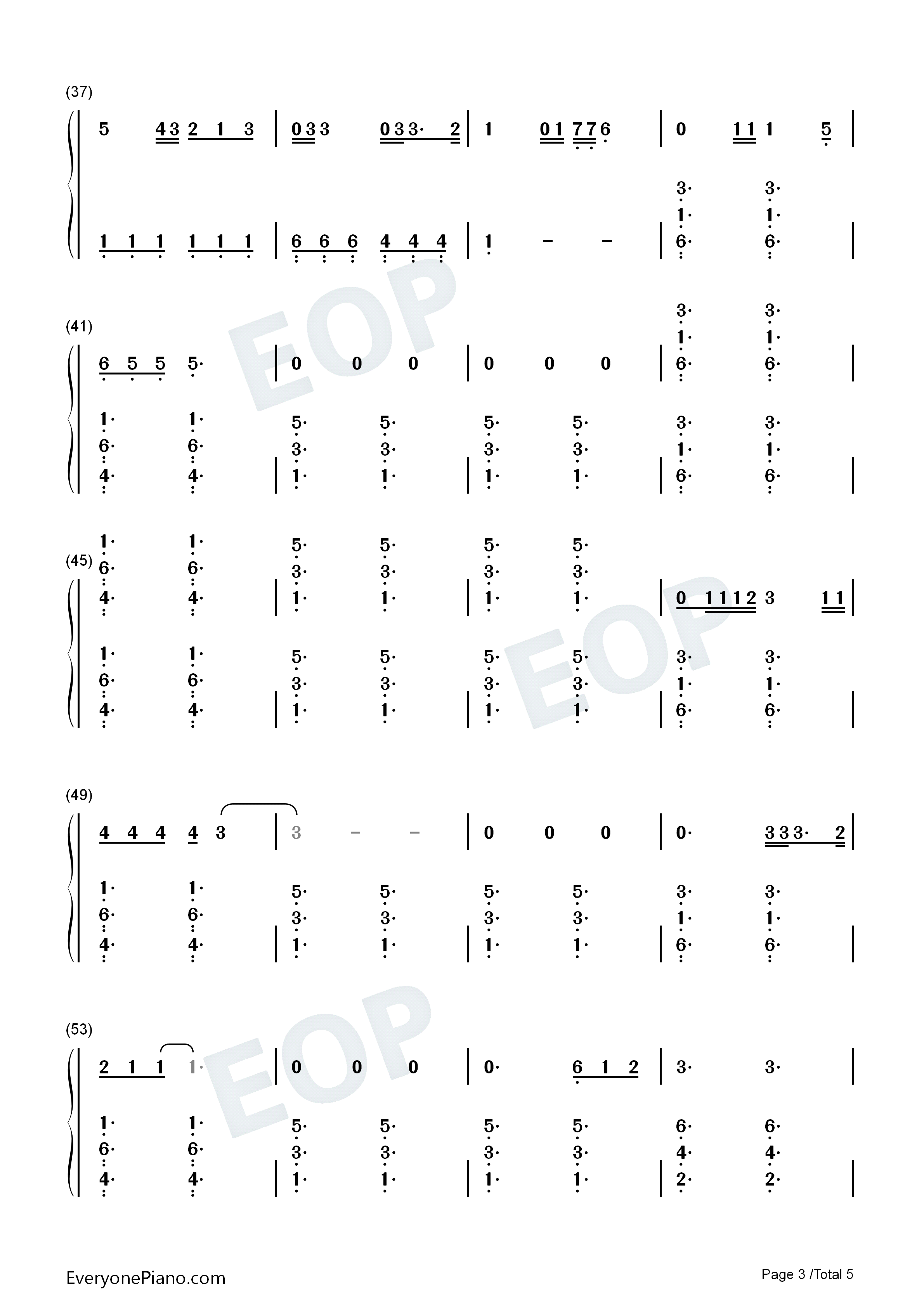 Give me love ed sheeran numbered musical notation preview 3 free listen now print sheet give me love ed sheeran numbered musical notation preview 3 hexwebz Choice Image