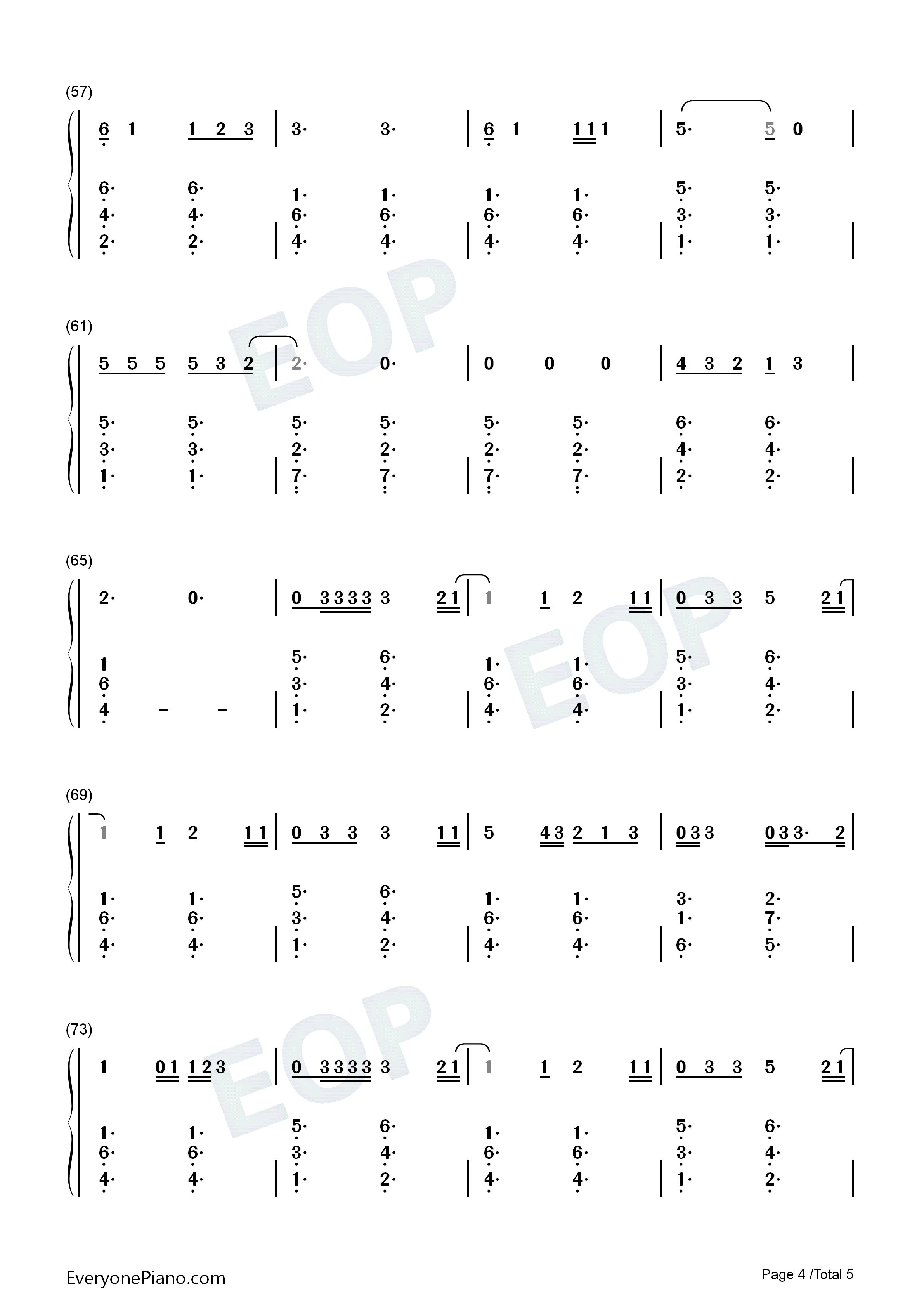 Give me love ed sheeran numbered musical notation preview 4 free listen now print sheet give me love ed sheeran numbered musical notation preview 4 hexwebz Choice Image