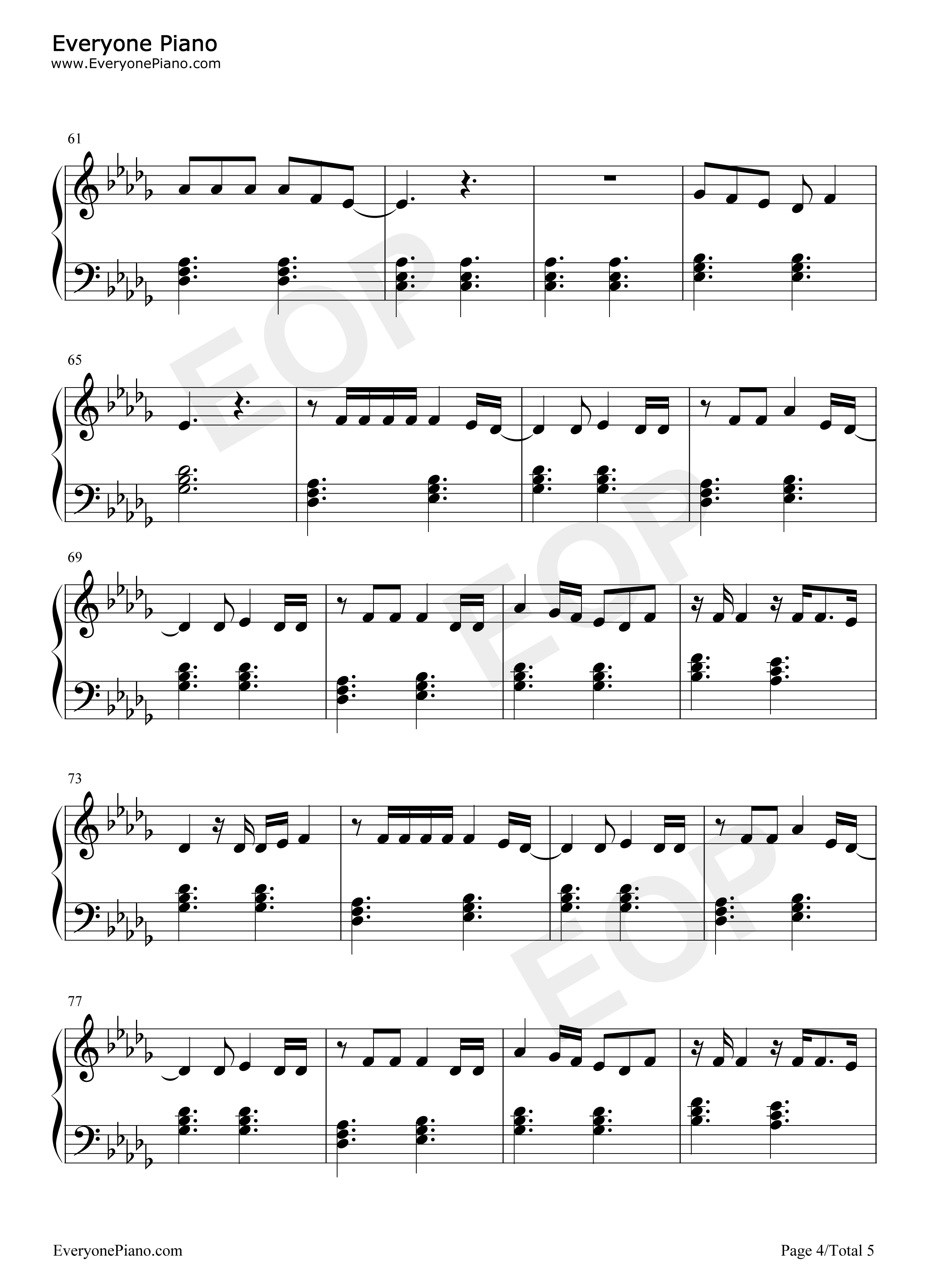 Give me love ed sheeran stave preview 4 free piano sheet music listen now print sheet give me love ed sheeran stave preview 4 hexwebz Choice Image