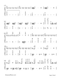 ODDS ENDS-Hatsune Miku-Numbered-Musical-Notation-Preview-2