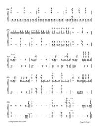 ODDS ENDS-Hatsune Miku-Numbered-Musical-Notation-Preview-4