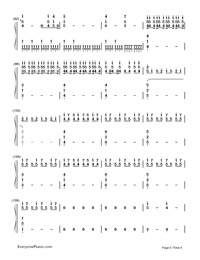 ODDS ENDS-Hatsune Miku-Numbered-Musical-Notation-Preview-6