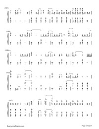 Let It Go Easy Version-Frozen Theme-Numbered-Musical-Notation-Preview-6