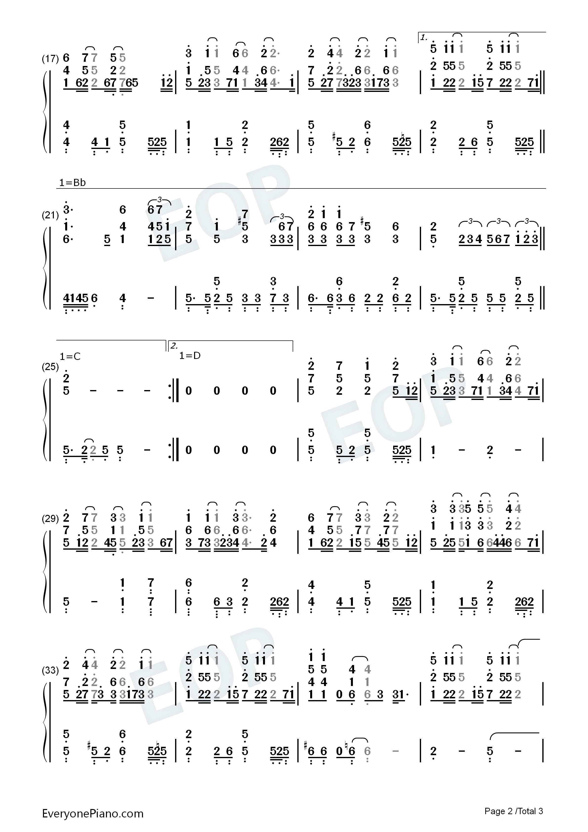 Dreaming dream high ost numbered musical notation preview 2 free listen now print sheet dreaming dream high ost numbered musical notation preview 2 hexwebz Image collections