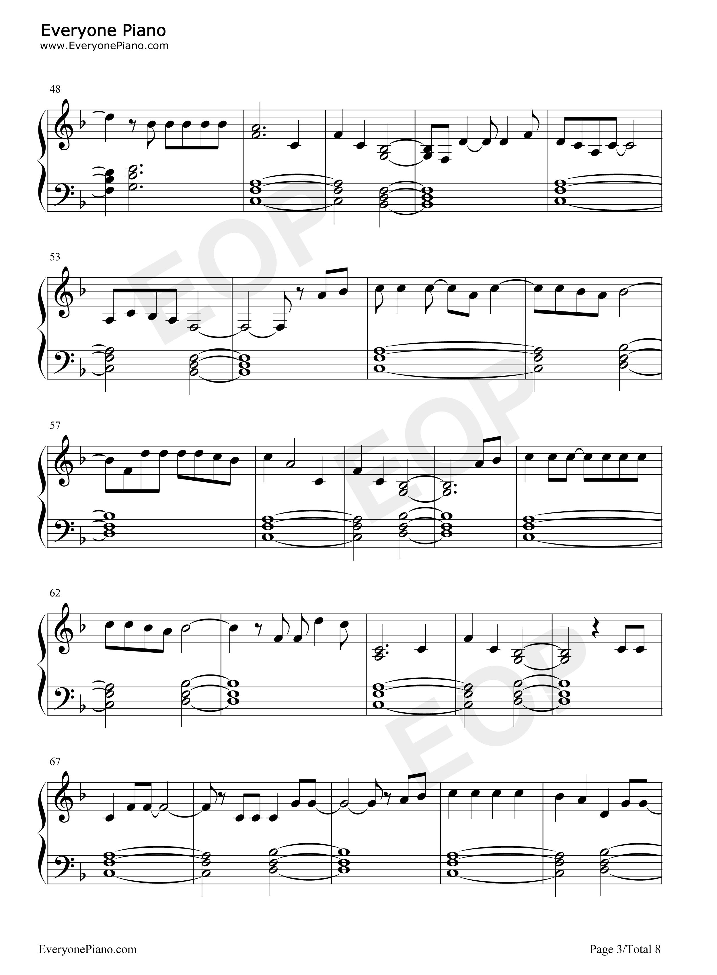 Carry On Sheet Music Timiznceptzmusic