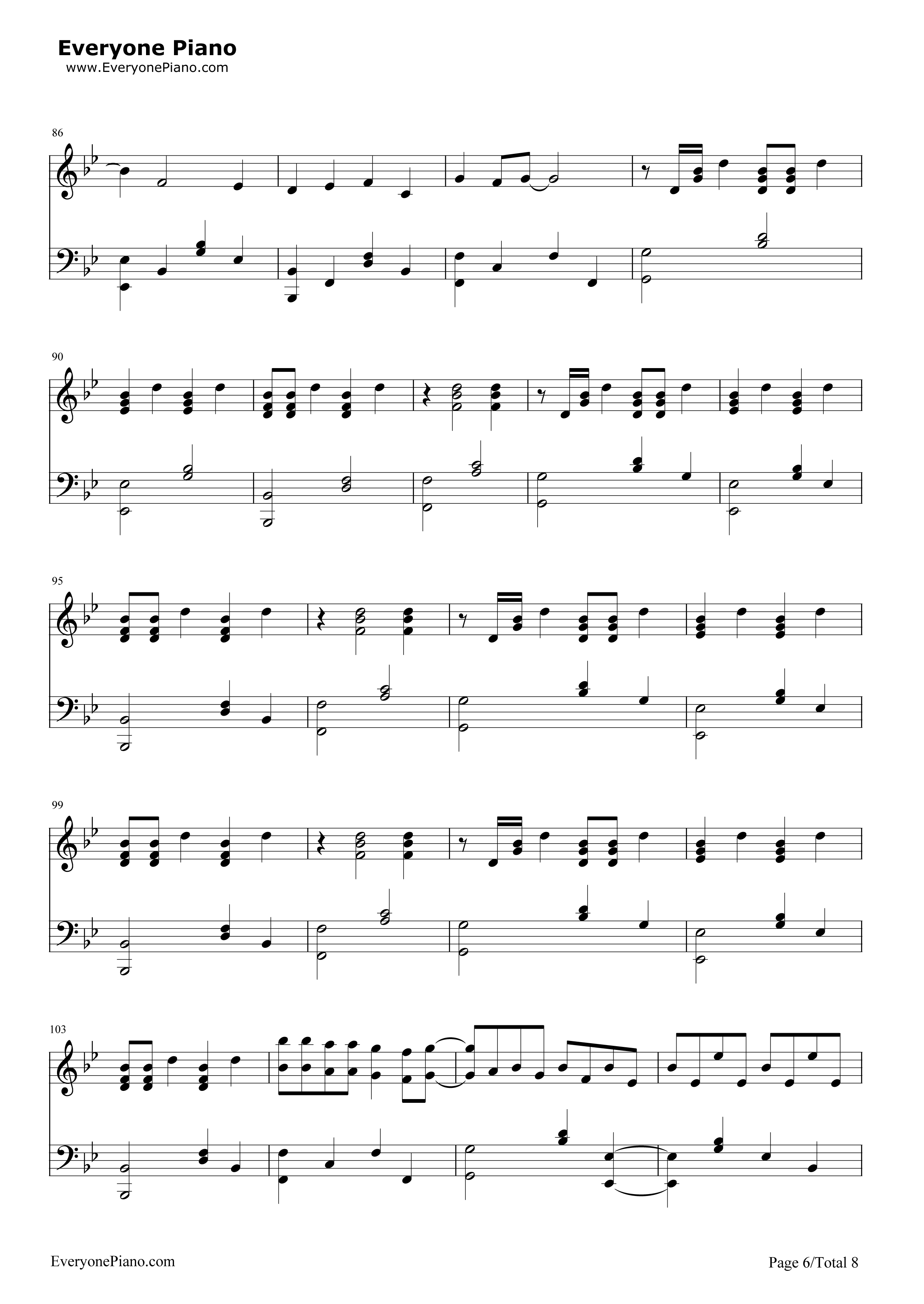 Hall of Fame-The Script ft  will i am Free Piano Sheet Music