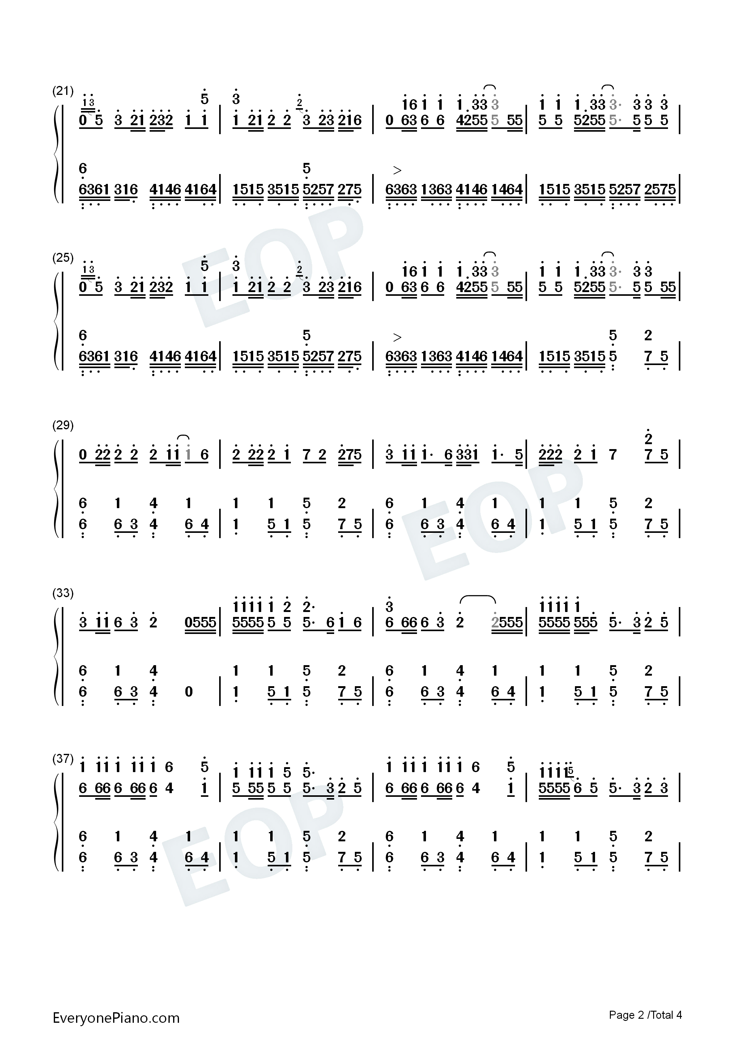Replay iyaz numbered musical notation preview 2 free piano sheet listen now print sheet replay iyaz numbered musical notation preview 2 hexwebz Image collections