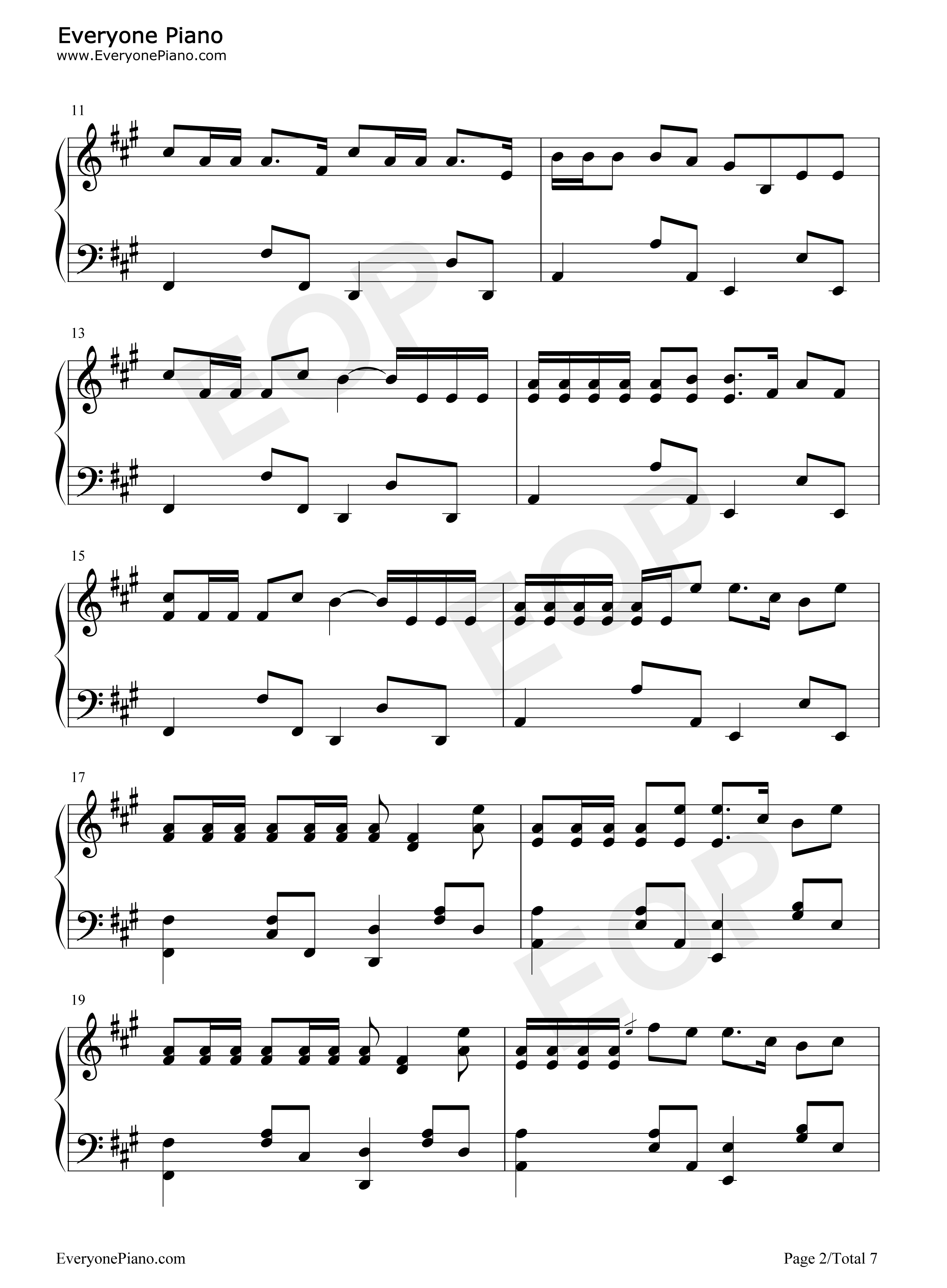 Replay iyaz stave preview 2 free piano sheet music piano chords listen now print sheet replay iyaz stave preview 2 hexwebz Image collections