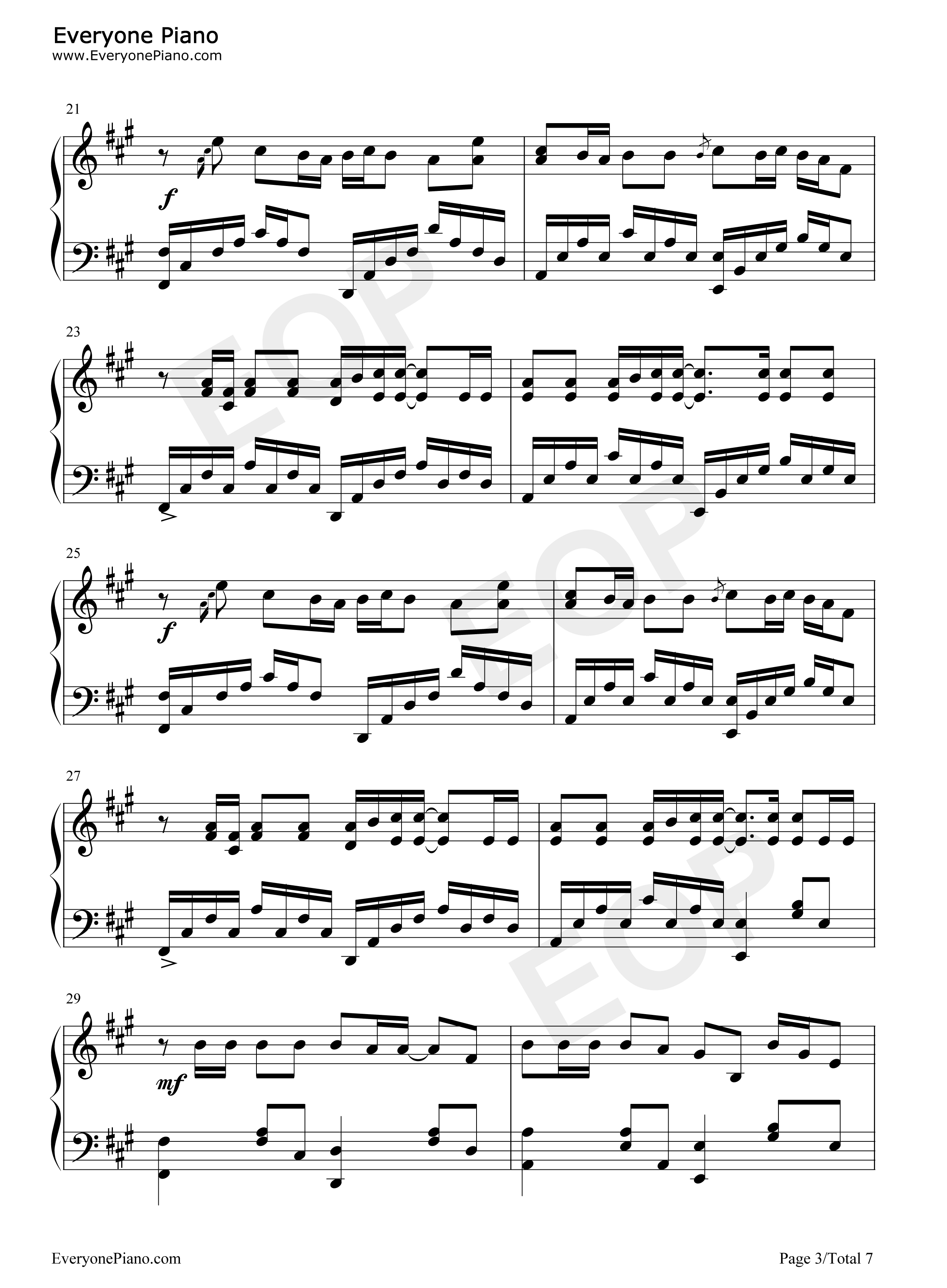 Replay iyaz stave preview 3 free piano sheet music piano chords listen now print sheet replay iyaz stave preview 3 hexwebz Image collections
