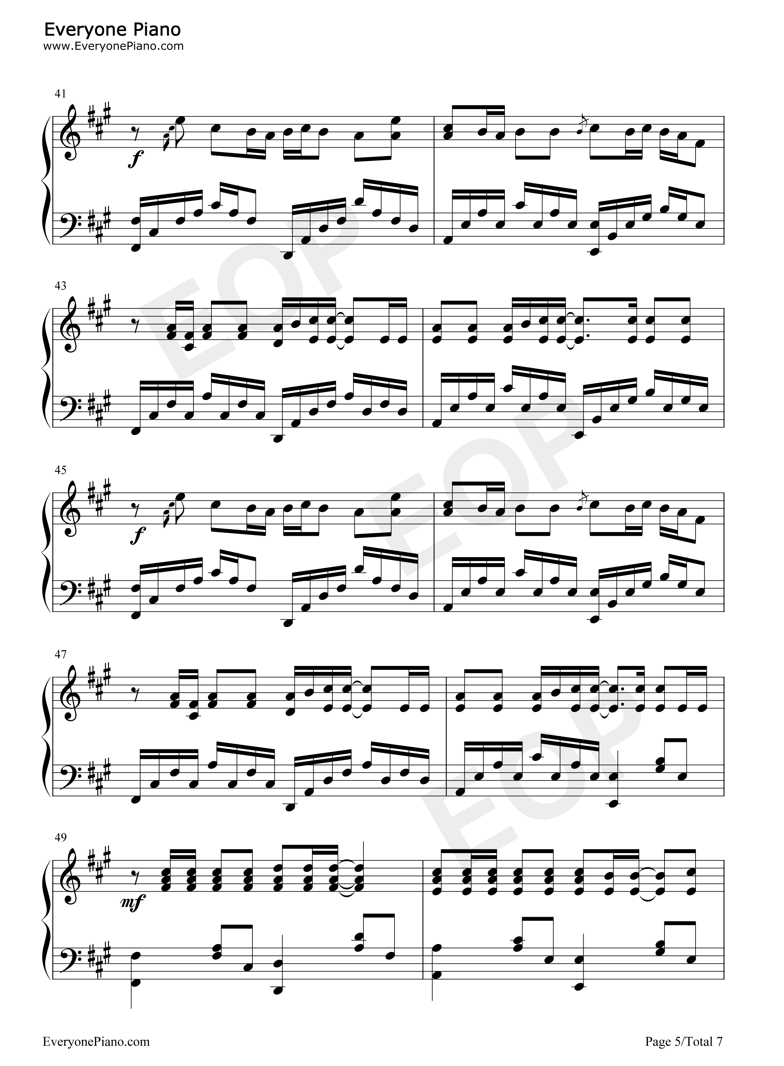 Replay iyaz stave preview 5 free piano sheet music piano chords listen now print sheet replay iyaz stave preview 5 hexwebz Image collections