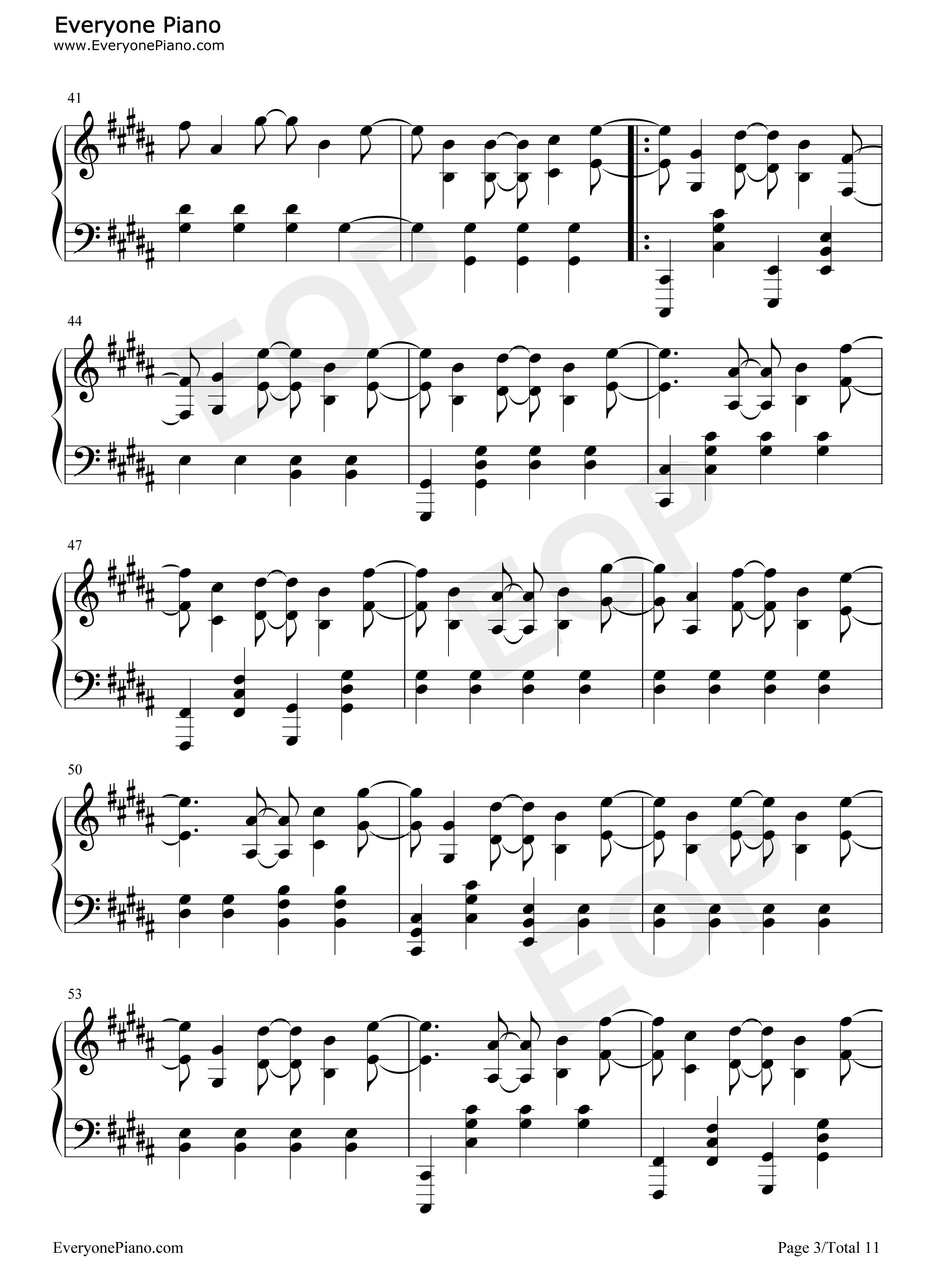 I remember deadmau5 sheet music.