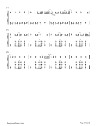 Sing-Ed Sheeran-Numbered-Musical-Notation-Preview-2