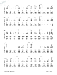 Skyscraper-Demi Lovato-Numbered-Musical-Notation-Preview-3