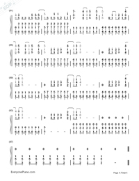 Skyscraper-Demi Lovato-Numbered-Musical-Notation-Preview-5