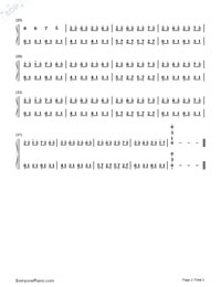 Magome Togoshi-Clannad BGM-Numbered-Musical-Notation-Preview-2