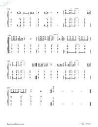 You and I-One Direction-Numbered-Musical-Notation-Preview-2