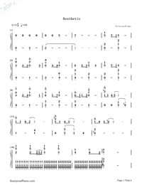 Aesthetic-Team Medical Dragon OST-Numbered-Musical-Notation-Preview-1