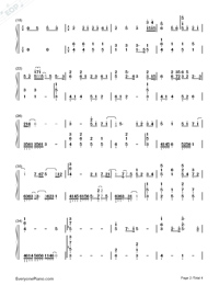 Aesthetic-Team Medical Dragon OST-Numbered-Musical-Notation-Preview-2
