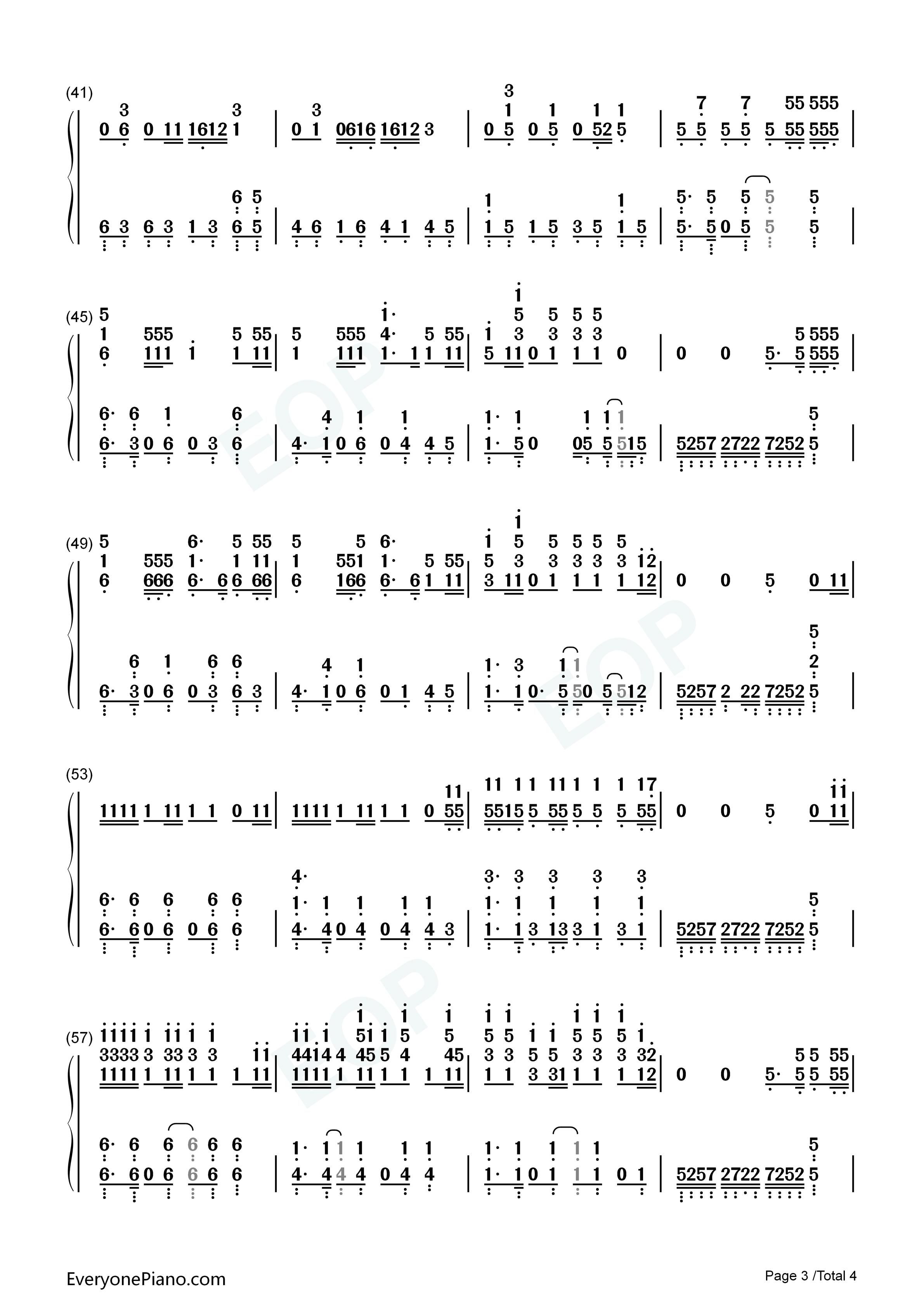 just a dream piano sheet music pdf