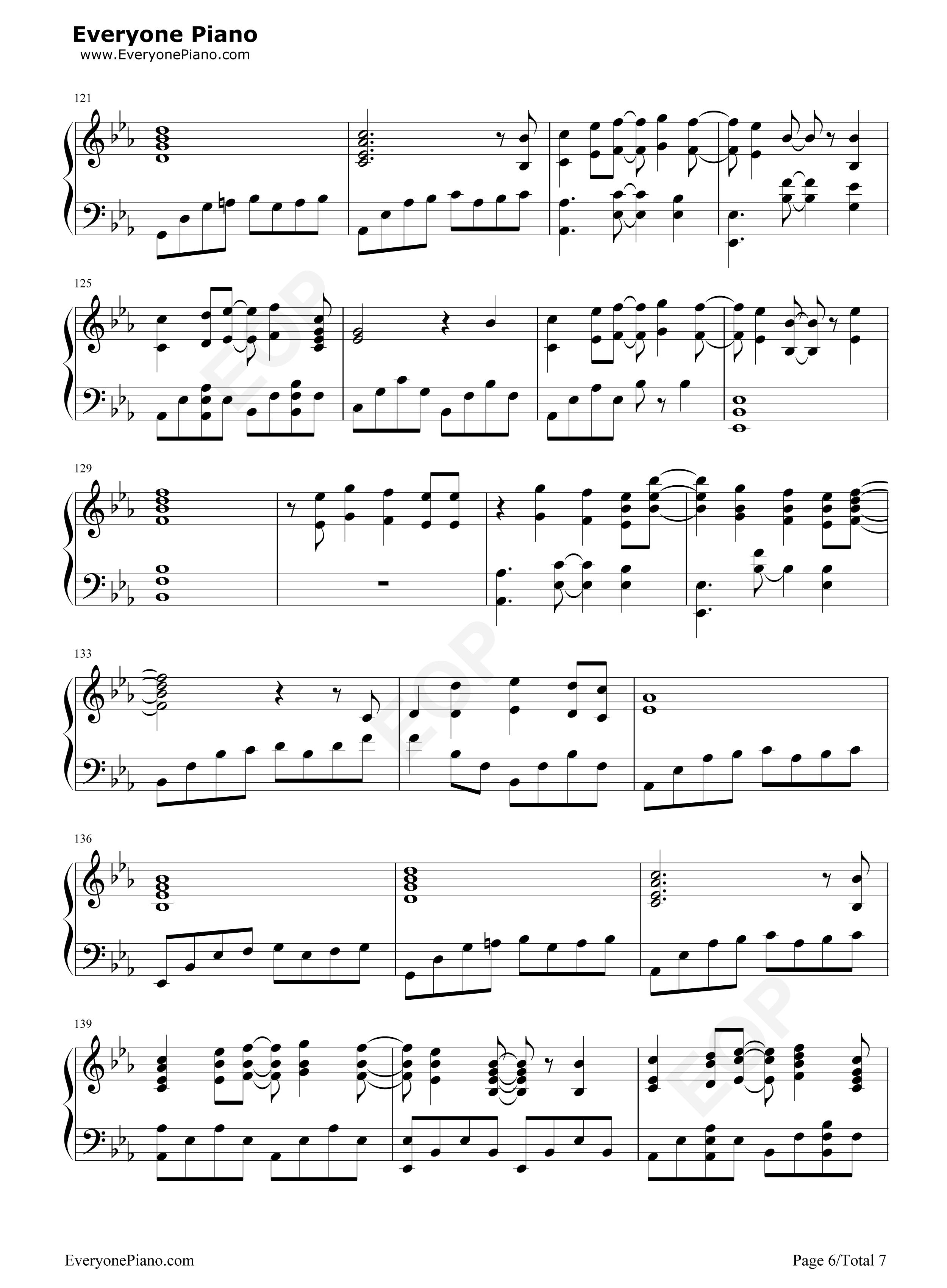Fireflies Owl City Free Piano Sheet Music Piano Chords
