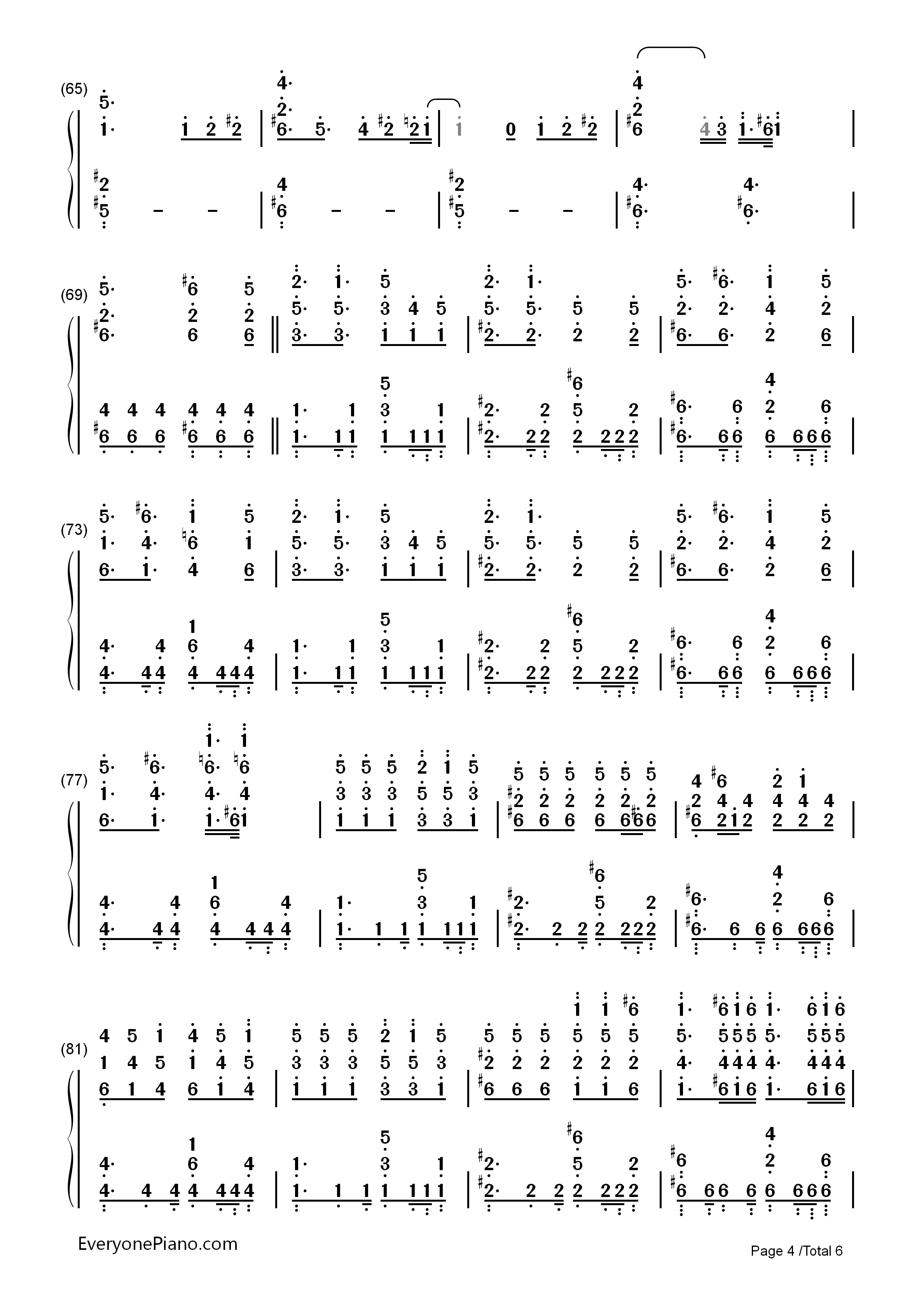 Complicated chords