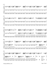 Smooth Criminal-Michael Jackson-Numbered-Musical-Notation-Preview-2