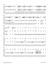 Smooth Criminal-Michael Jackson-Numbered-Musical-Notation-Preview-4