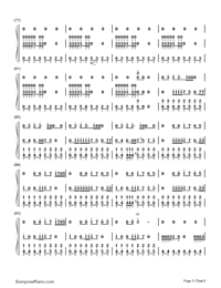 Smooth Criminal-Michael Jackson-Numbered-Musical-Notation-Preview-5
