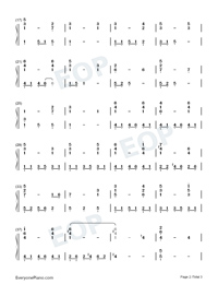 Aogeba Tōtoshi-Numbered-Musical-Notation-Preview-2