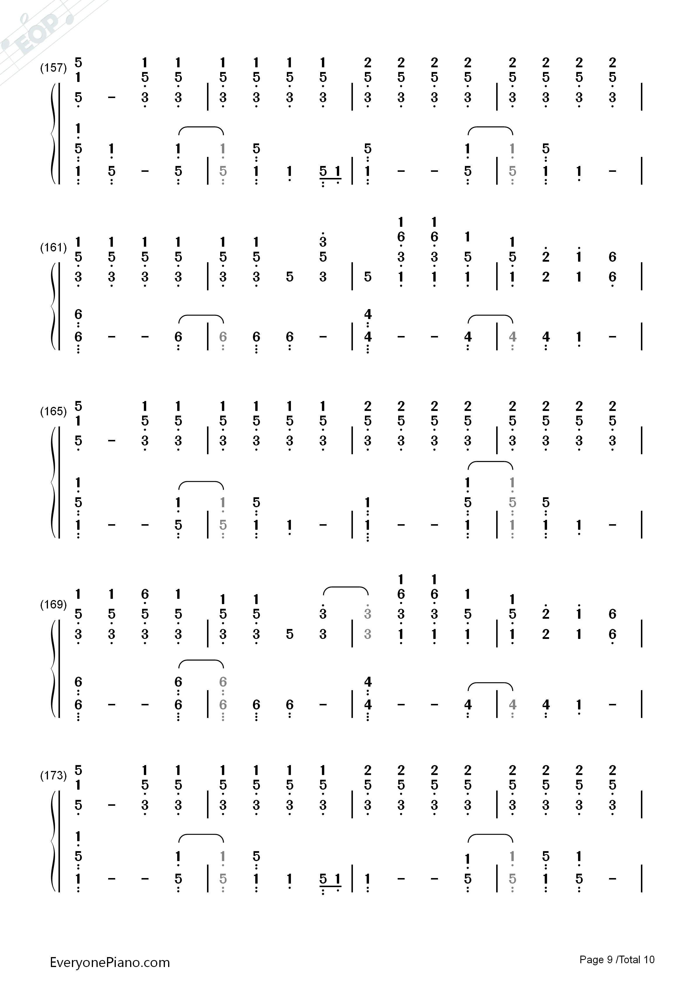 Scientist Coldplay Piano Chords Choice Image Piano Chord Chart