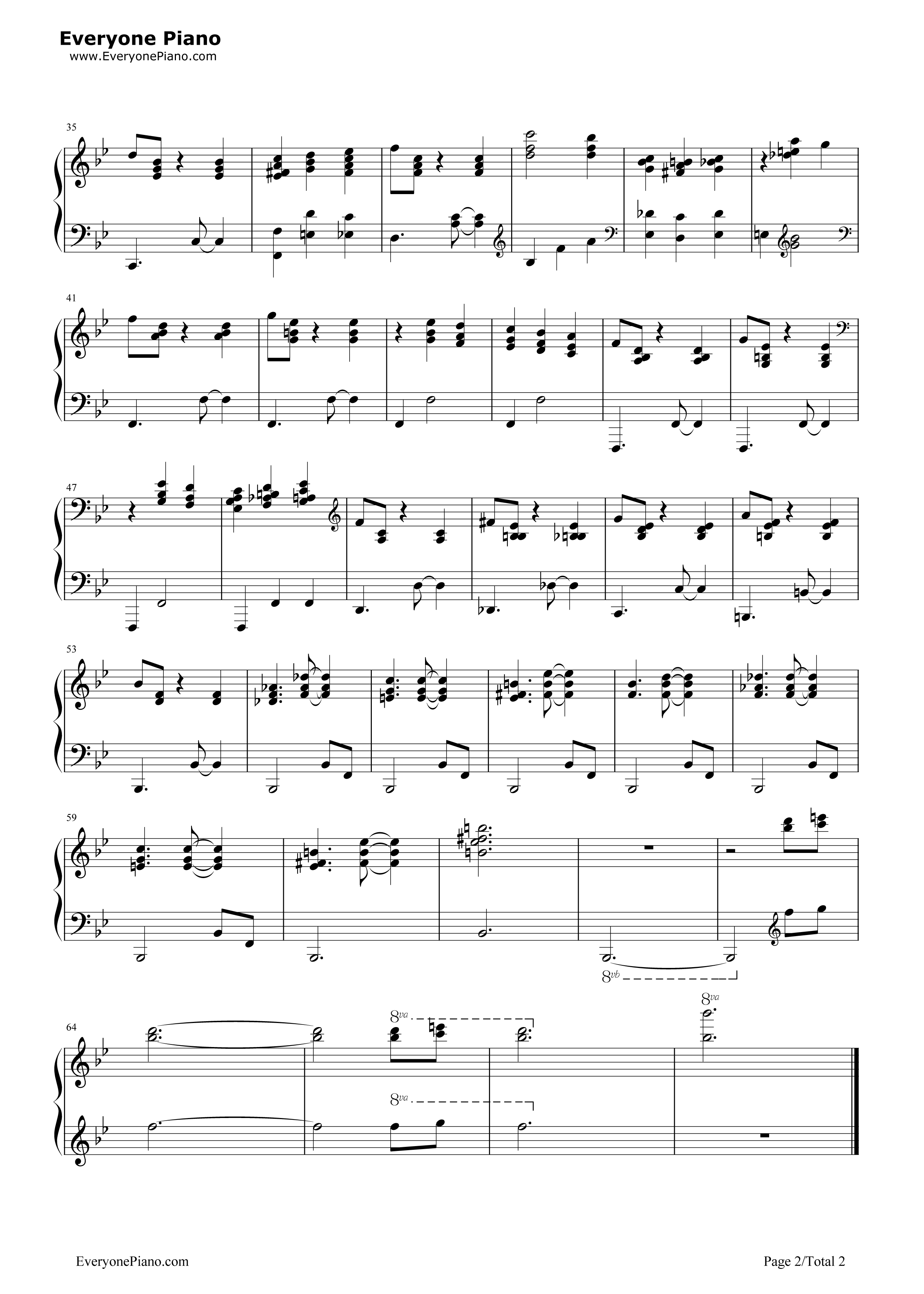 Someday my prince will come stave preview 2 free piano sheet listen now print sheet someday my prince will come stave preview 2 hexwebz Choice Image