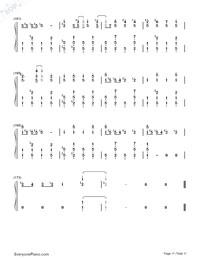 Matryoshka-Hatsune Miku & GUMI-Numbered-Musical-Notation-Preview-11