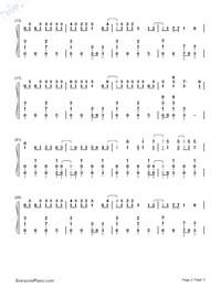 Matryoshka-Hatsune Miku & GUMI-Numbered-Musical-Notation-Preview-2