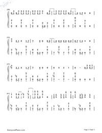 Matryoshka-Hatsune Miku & GUMI-Numbered-Musical-Notation-Preview-3