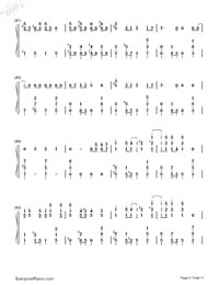 Matryoshka-Hatsune Miku & GUMI-Numbered-Musical-Notation-Preview-6