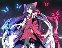 Dichromatic Lotus Butterfly ~ Red and White-Shuusou Gyoku BGM